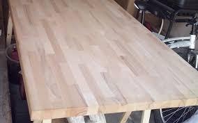 plan de travail cuisine hetre rénovation de cuisine avec plans de travail en hêtre massif le
