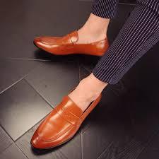 Wedding Shoes Luxury Aliexpress Com Buy 2017 Glossy Dress Shoes Black Flat Wedding