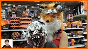 scary halloween costumes haul at walmart make up kit mask youtube