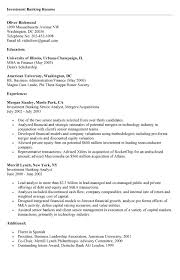 Mergers And Inquisitions Resume Investment Banking Resume Template Download Our Investment