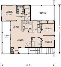 Adobe Style Home Plans by Wonderful Adobe House Plans Southwest Ranch Floorplan Image Inside