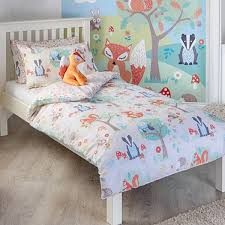 Childrens Duvet Covers Double Bed Children U0027s Duvet Cover Sets Forest Animals Becky U0026 Lolo