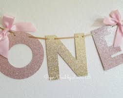 Gold And Pink Party Decorations Pink And Gold Party Etsy