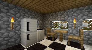 minecraft interior design kitchen furniture mod minecraft mods