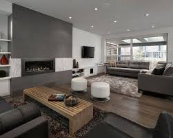 Grey Family Room Houzz - Houzz family room