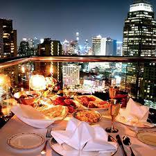 One Year Anniversary Dinner Ideas Most Romantic Restaurants In Bangkok Travel Leisure