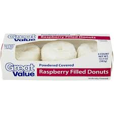great value powdered raspberry donuts walmart com