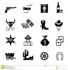 cowboy west life western poster royalty free stock photography