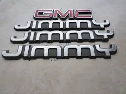 gmc jimmy 1988 used gmc jimmy emblems for sale