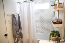 a builder grade bathroom transformation with lowe u0027s u2013 amber interiors