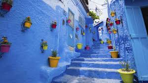 blue city morocco chair morocco s prettiest town chefchaouen escape