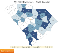 South Carolina County Map South Carolina Rankings Data County Health Rankings U0026 Roadmaps