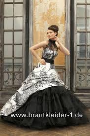 brautkleid schwarz weiss designer brautkleid farbig schwarz weiss