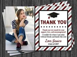 graduation thank you cards 10 graduation thank you card exles editable psd ai png