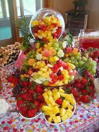 fruit displays fruit station catering food and party time