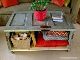 old doors made into coffee tables old repurposed door made into a coffee table home is where