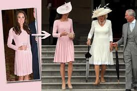 duchess kate duchess kate recycles emilia wickstead dress kate middleton recycles garden party baby pink emilia wickstead