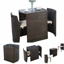 Wicker Bistro Table And Chairs Bistro Table And Chairs Home U0026 Garden Ebay