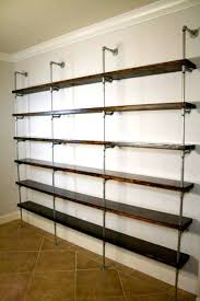 Industrial Pipe Bookcase The Original Pipe Bookshelves And Pipe Shelving Industrial Envy Llc