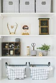 Baskets For Bookshelves Styling A Bookshelf 10 Homes That Get It Right 5 Tips For Your