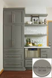 Kitchen Island Colors Painted Kitchen Island Benjamin Moore Iron And Gray