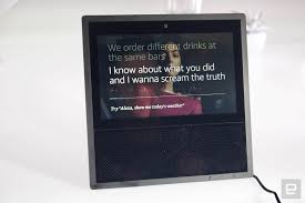 Lights And Camera Lyrics Amazon Echo Show Review Seeing Is Believing