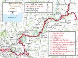Royal Botanical Gardens Melbourne Map Yarra Trail Ride On