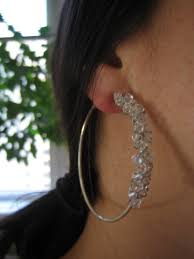 ear candy earrings decor and rock candy hoop earrings