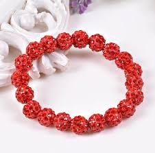 shamballa beads bracelet images Stunning handmade crystal shamballa bead bracelets hartleys png
