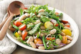 Garden Salad Ideas And Butter Bean Salad