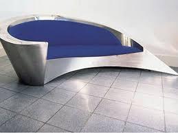 Spaces That Shine Steel  Copper In Interior Design Urbanist - Steel sofa designs