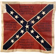 Different Confederate Flags Confederate Flags Confederate Flag 1863 Photograph