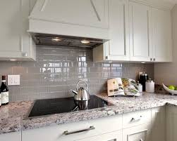 Modern Exquisite Gray Glass Subway Tile Kitchen Backsplash Best - Best backsplash