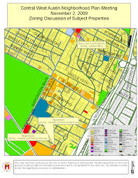Map Of Austin Tx The Central West Austin Neighborhood Planning Workshop Will Meet