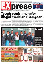 mthatha express 24 august 2017 by mthatha express issuu