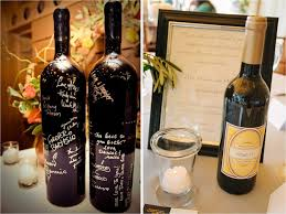 wine bottle wedding guest book best gift idea 16 incredibly wedding guest book ideas