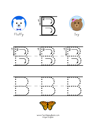 learn the letter b with fluffy and ivy