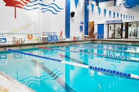 stock photos swim lanes in a public indoor pool stock