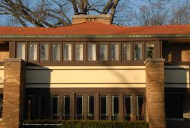 frank lloyd wright prairie architecture in decatur