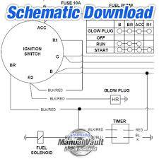 caterpillar c10 c12 3406e c15 c16 electrical wiring diagram
