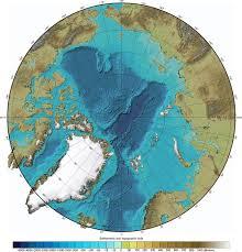 Map Of Oceans Arctic Ocean Bathymetry Map Geology Com