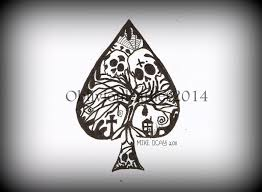 tattoo design spade 1 by oblivionleather76 on deviantart