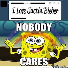 Nobody Cares Memes - who cares meme spongebob image memes at relatably com