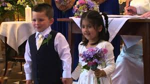flower girl wedding wedding flower girl and page boy highlights