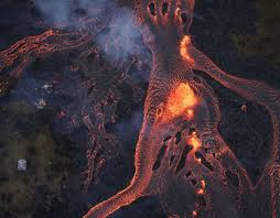 what are lava ls made of hawaii volcano eruption what happens when lava meets the sea