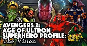 Avengers Halloween Costumes Avengers Age Ultron Superhero Profile Vision