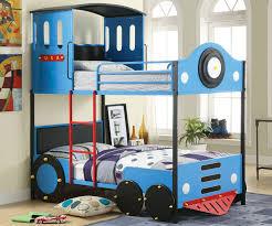 Blue Train Bunk Bed CMBK Furniture Of America Kids - Furniture of america bunk beds