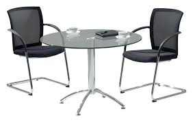 round office table and chairs round office table evercurious me