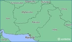 map of karachi where is karachi pakistan karachi sindh map worldatlas