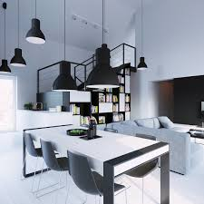 Dining Room Modern by 30 Black U0026 White Dining Rooms That Work Their Monochrome Magicjust